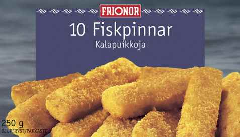 Bilde av Frionor fiskepinner.