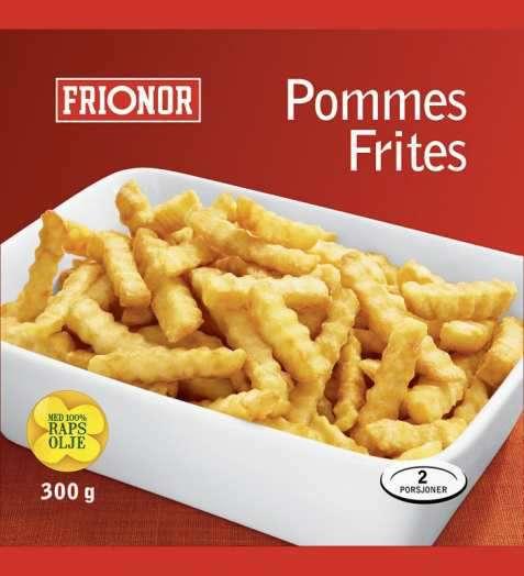 Bilde av Frionor pommes frites.