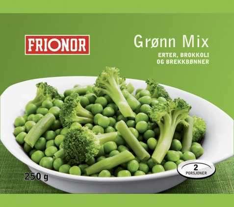 Bilde av Frionor Grønn mix.