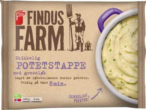 Bilde av Findus Farm Potetstappe med gressløk.