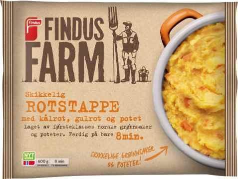 Bilde av Findus Farm Rotstappe.