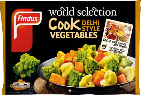 Bilde av Findus World Selection Cook Delhi style.