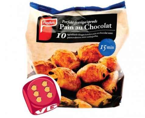 Bilde av Findus Pain au Chocolat.