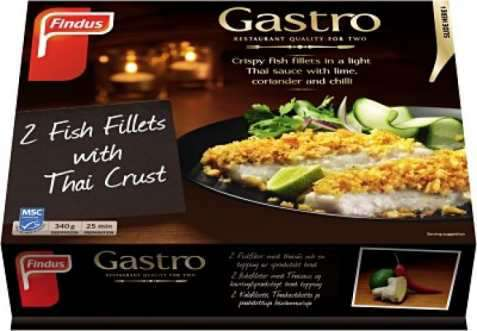 Bilde av Findus Gastro fiskefilet med thaisaus.