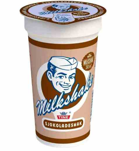 Bilde av Tine milkshake sjokolade.