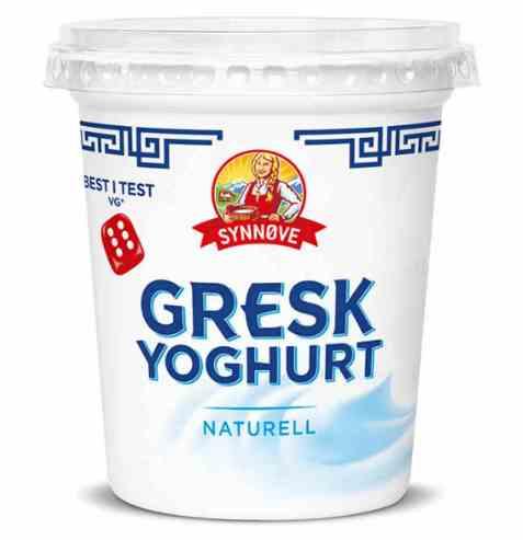 Bilde av Synnøve gresk yoghurt naturell.