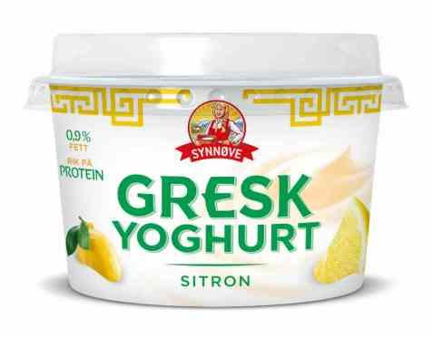 Bilde av Synnøve gresk yoghurt sitron.