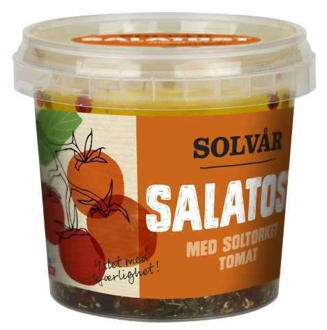 Bilde av Tine Solvår Salatost med soltørket tomat.