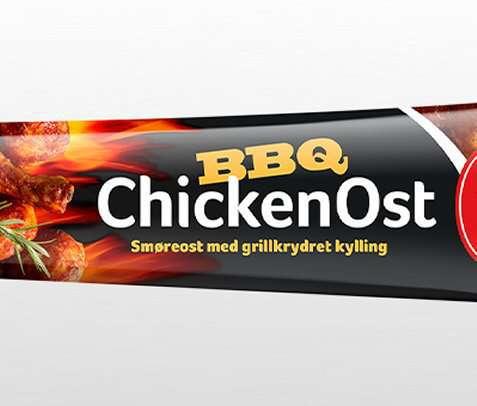 Bilde av Kavli mer smak BBQ ChickenOst.