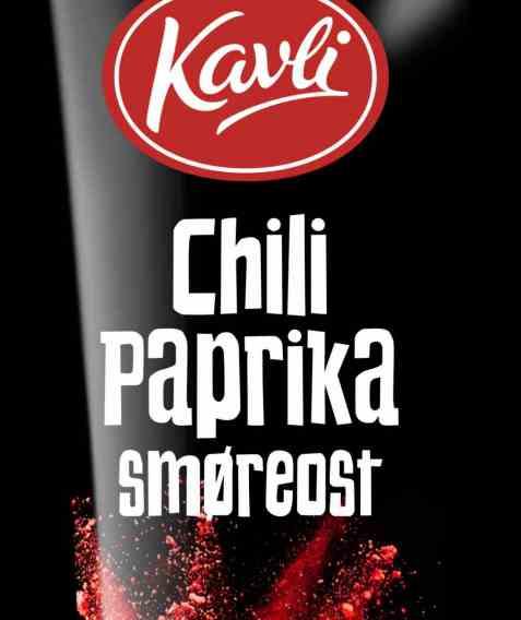 Bilde av Kavli smaksrik Chili Paprika smøreost.
