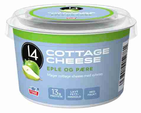 Bilde av Tine 14 Cottage Cheese eple/pære.