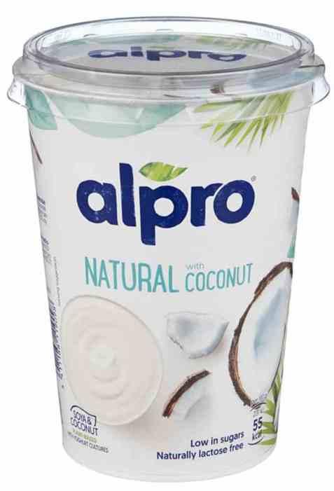 Bilde av Alpro Naturell yoghurt med Kokos.