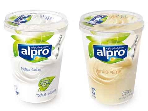 Bilde av Alpro Vanilje yoghurt.