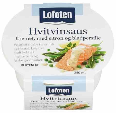 Bilde av Lofoten Hvitvinsaus – Kremet med sitron og bladpersille.