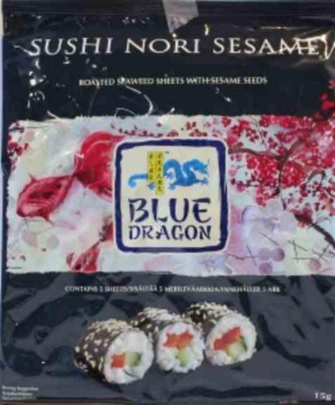 Bilde av Blue Dragon Sushi Nori sesam.