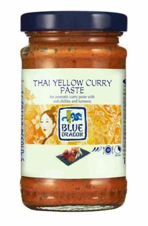 Bilde av Blue Dragon yellow curry paste.