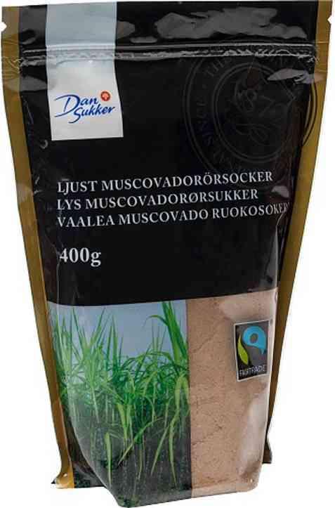 Bilde av Dansukker lyst muscovadorørsukker.