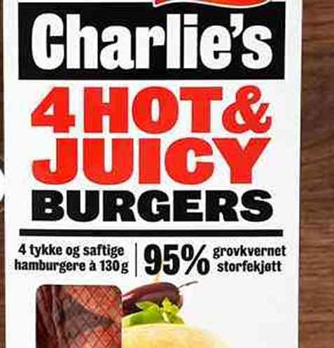 Bilde av Grilstad Charlie's Hot & Juicy.