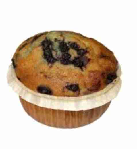 Bilde av Aunt Mabel bake off blueberry muffins.