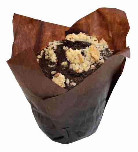 Bilde av Aunt Mabel tulip chocolate muffins.