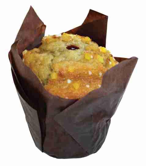 Bilde av Aunt Mabel tulip muffins lemon & razz.