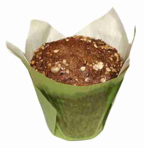 Bilde av Aunt Mabel tulip musli muffin.