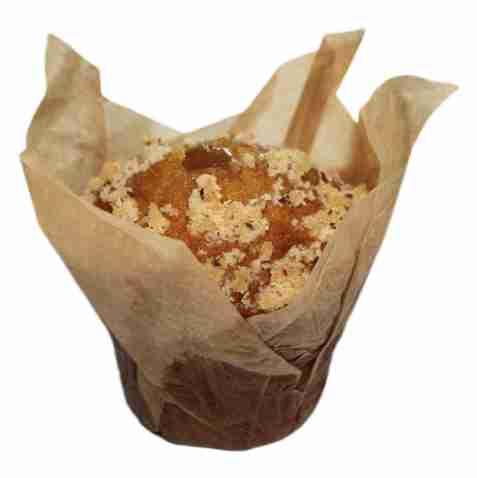 Bilde av Aunt Mabel premium tulip caramel muffins.