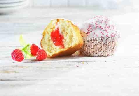 Bilde av Aunt Mabel raspberry muffin 160g.