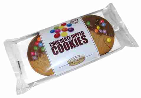 Bilde av Aunt Mabel chocolate dipped cookies 4-pack.