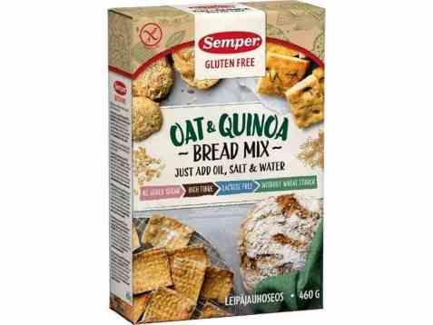 Bilde av Semper havre og quinoa brød mix.