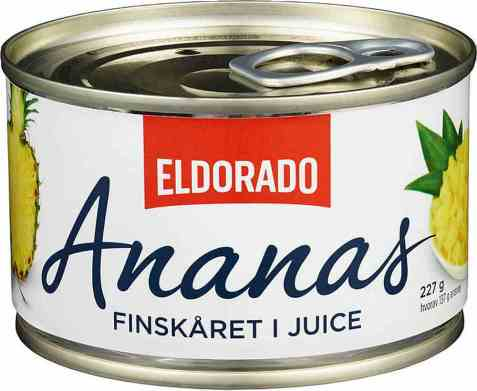 Bilde av Eldorado Ananas finskåret.