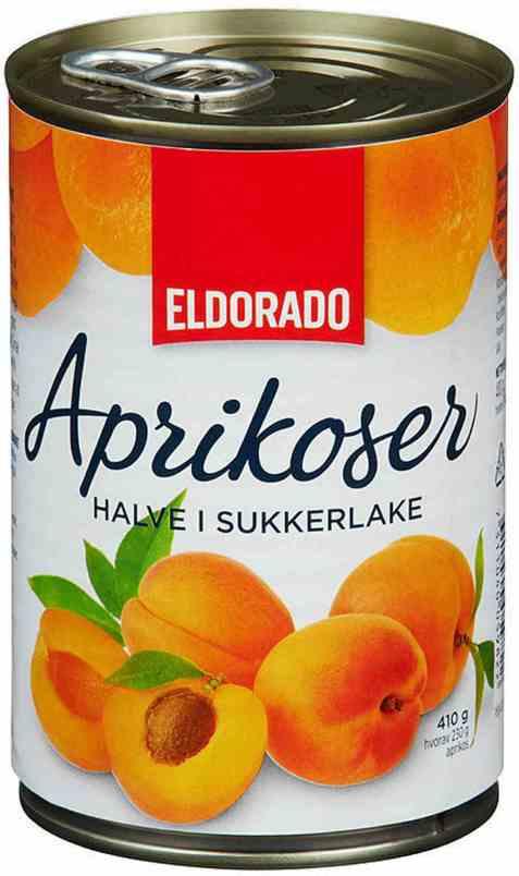 Bilde av Eldorado aprikoser halve.