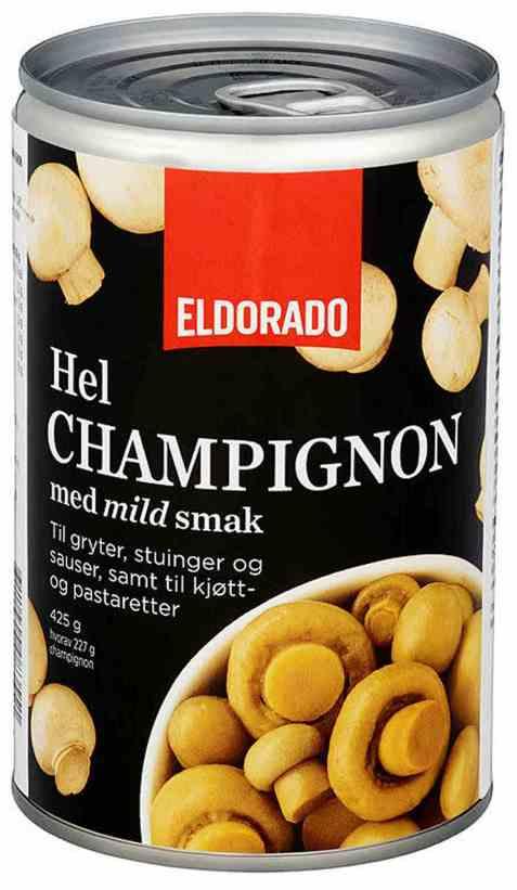 Bilde av Eldorado champignon hel.