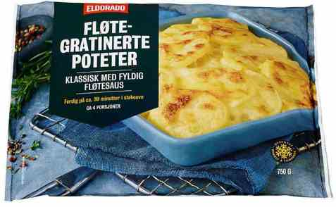 Bilde av Eldorado fløtegratinerte poteter.
