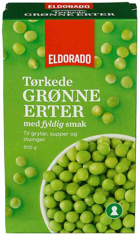 Bilde av Eldorado grønne erter.