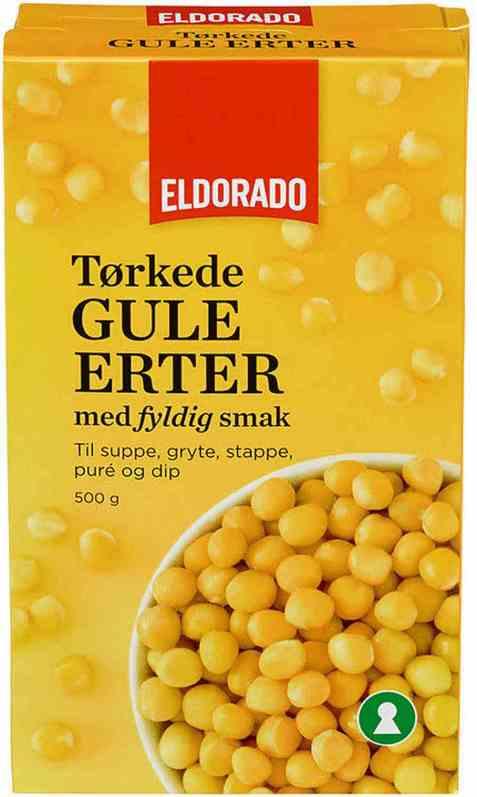Bilde av Eldorado gule erter.