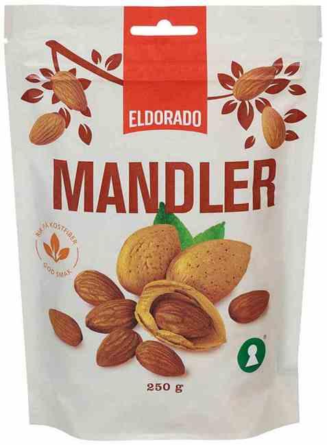 Bilde av Eldorado mandler ståpose.
