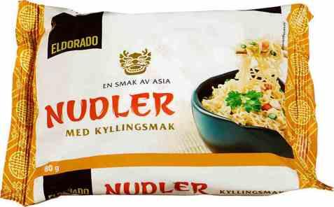Bilde av Eldorado nudler m/kyllingsmak.