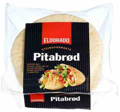 Bilde av Eldorado pitabrød.