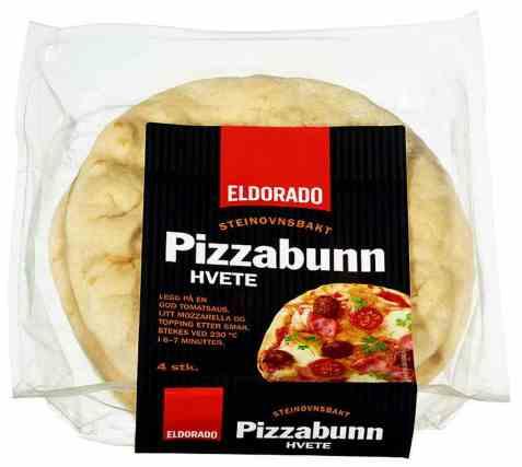 Bilde av Eldorado pizzabunn porsjon stenovn.