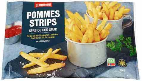 Bilde av Eldorado pommes strips.