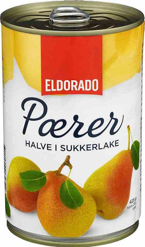 Bilde av Eldorado pærer halve 425gr.
