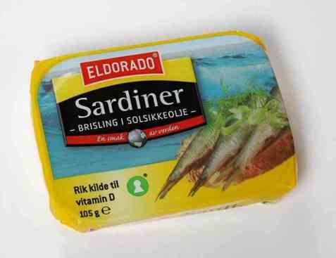 Bilde av Eldorado sardiner - Brisling i olje.