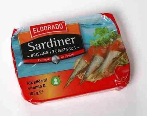 Bilde av Eldorado sardiner - brisling i tomat.