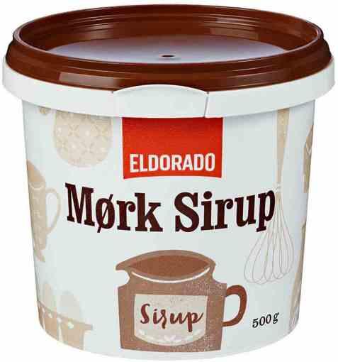 Bilde av Eldorado sirup, mørk.
