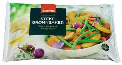 Bilde av Eldorado stekegrønnsaker.