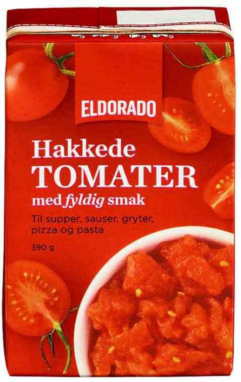 Bilde av Eldorado tomater hakkede tetra.