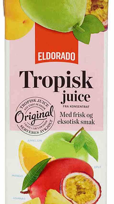 Bilde av Eldorado tropisk juice.