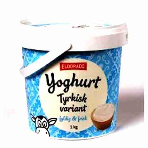 Bilde av Eldorado tyrkisk yoghurt.