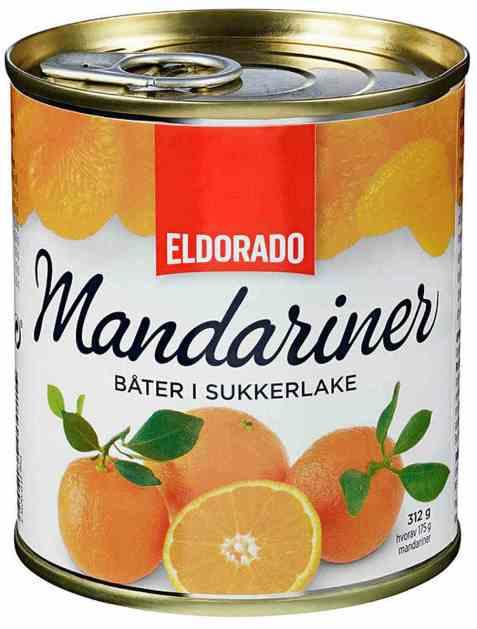 Bilde av Eldorado mandariner 312 gr.